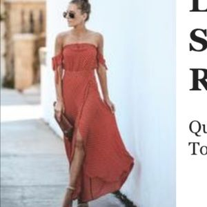 Red/orange Vici dress